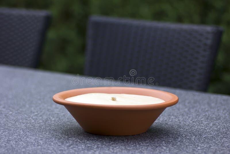 Факел сада - анти- москиты стоковое изображение rf