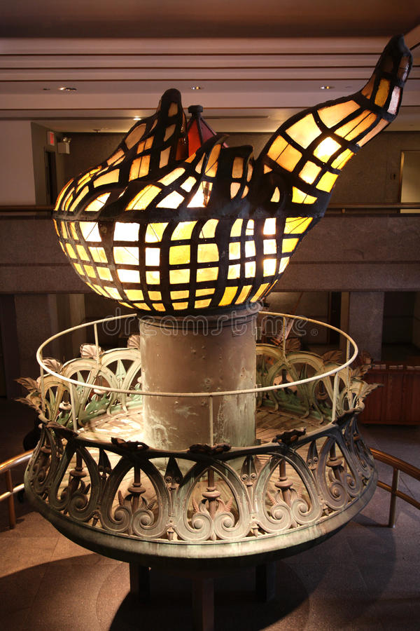 Факел статуи свободы стоковые изображения