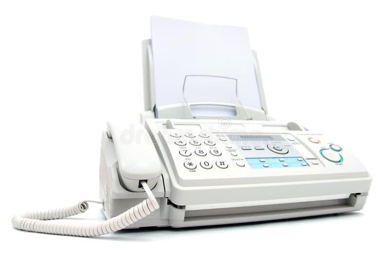 факсимильная машина стоковые фото