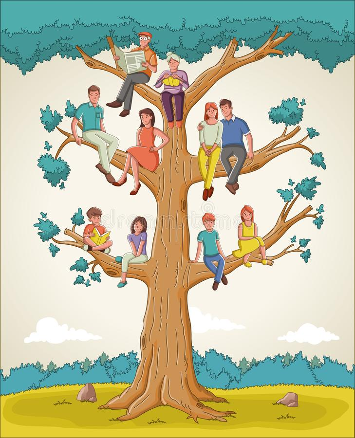 картинка семьи в виде дерева картинки пообещало
