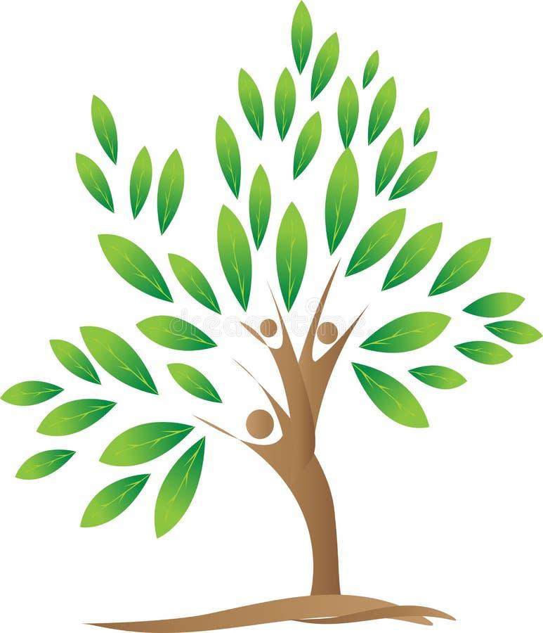 Фамильное дерев дерево иллюстрация вектора