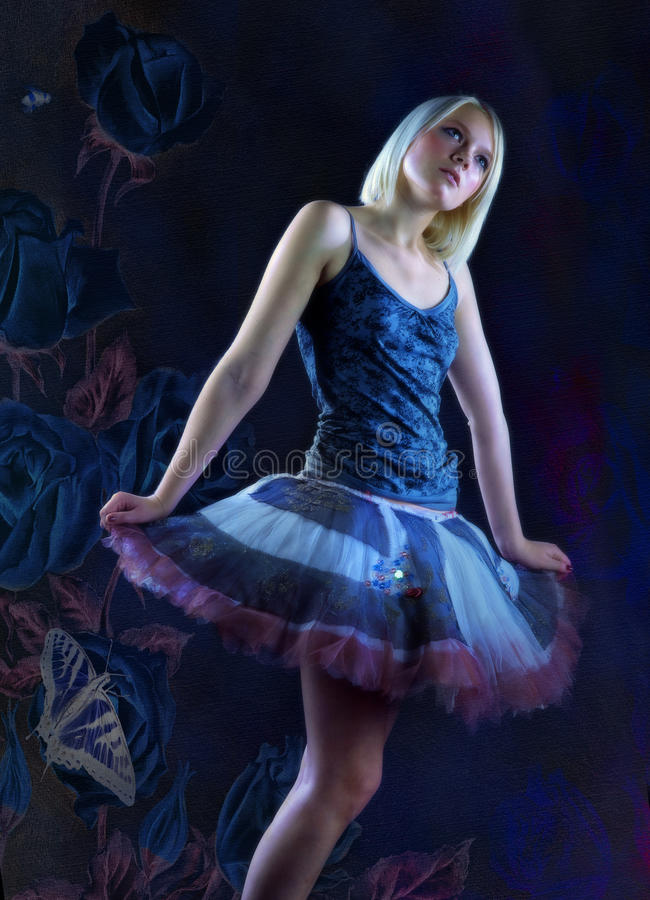 фантазия балета мечт иллюстрация штока