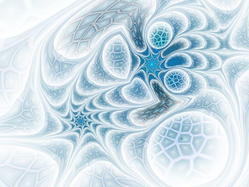 Фантазия вертится дизайн фрактали сетки иллюстрация штока