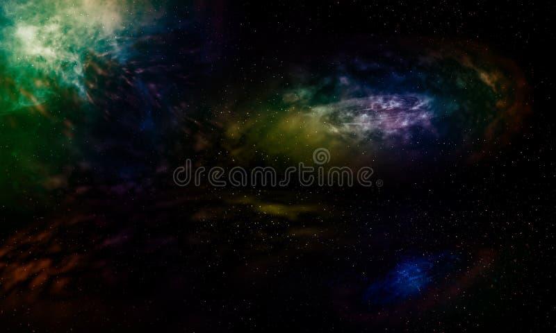 Фантазия галактик красивая бесплатная иллюстрация