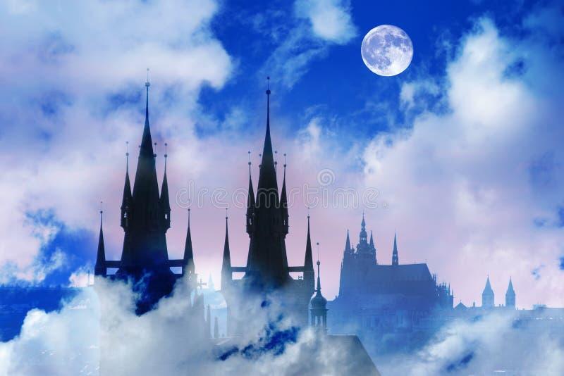 фантазия замока стоковая фотография