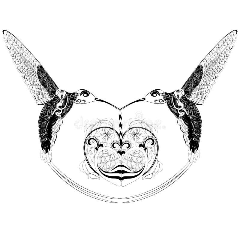 Фантазия колибри стоковые фотографии rf