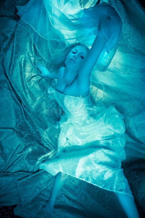 фантазия невесты стоковые изображения rf