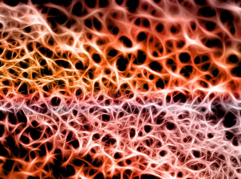 Фантастическая сеть иллюстрация вектора