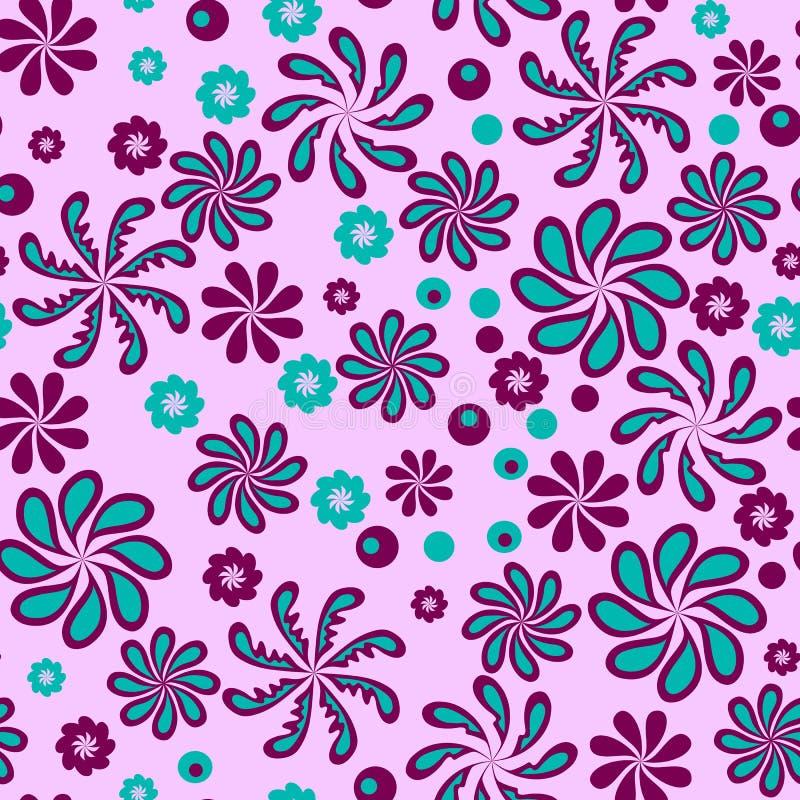 Фантастические абстрактные цветки стоковая фотография rf