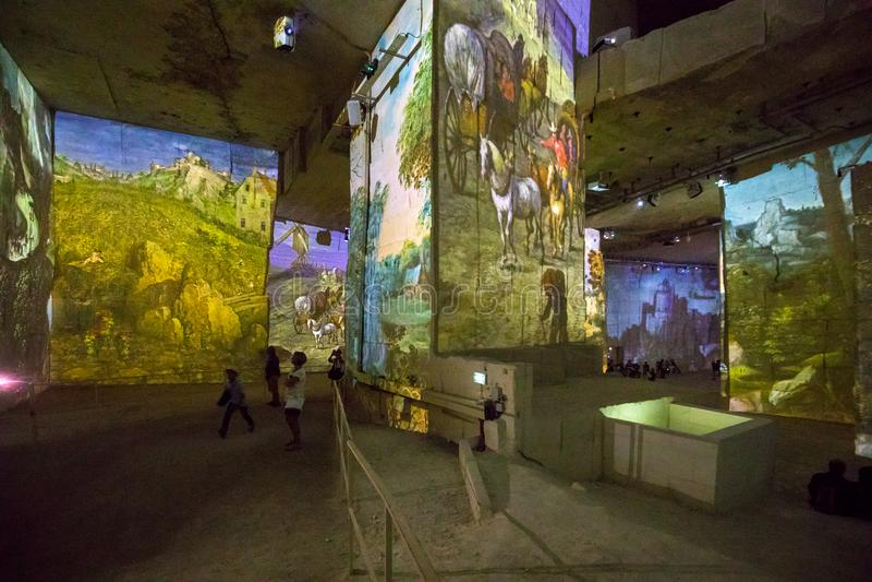 Фантастический и чудесный мир Bosch, Brueghel и Arcimboldo стоковые изображения