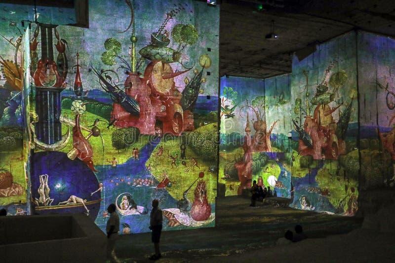 Фантастический и чудесный мир Bosch, Brueghel и Arcimboldo стоковая фотография
