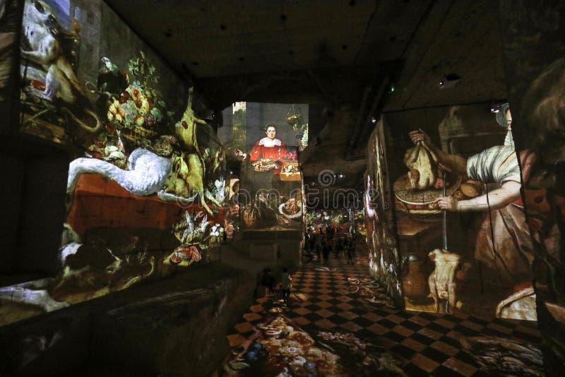 Фантастический и чудесный мир Bosch, Brueghel и Arcimboldo стоковое изображение rf