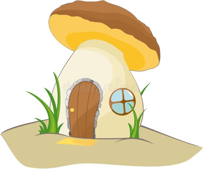 Фантастический коричневый гриб стоковые изображения