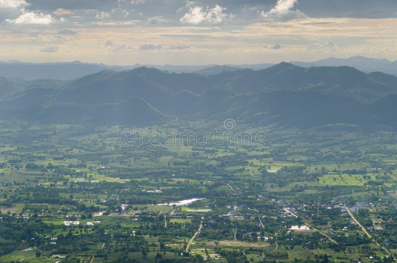 Фантастический слой горы стоковые фотографии rf