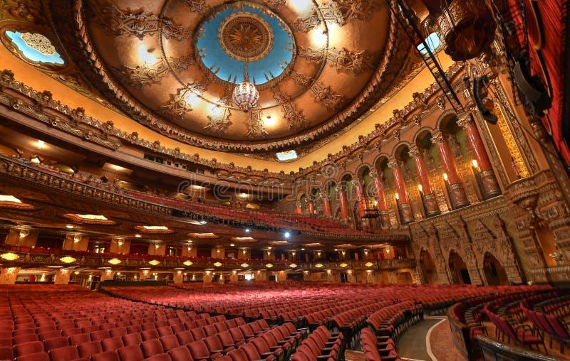 Фантастичный театр Fox в Сент-Луис стоковые изображения