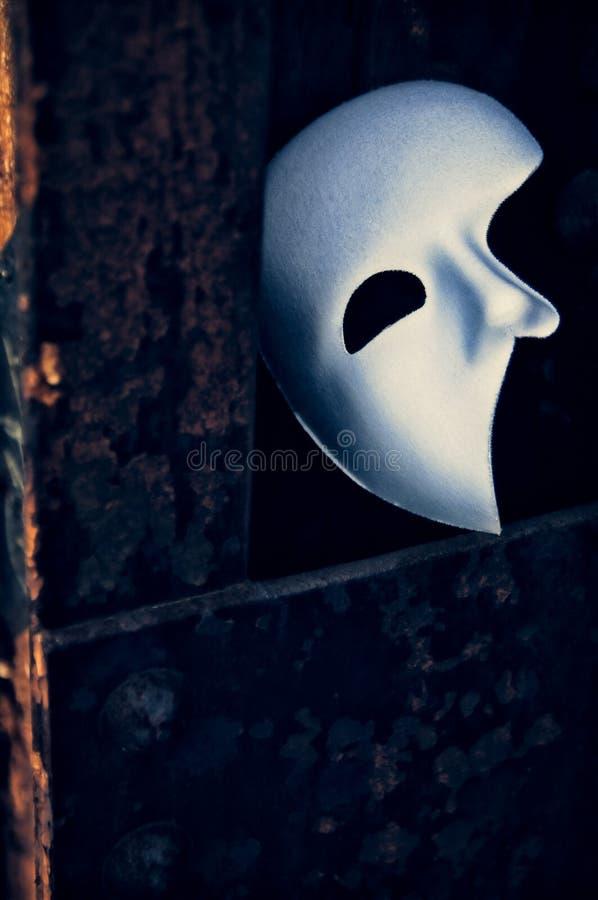 Фантом маски оперы стоковая фотография rf