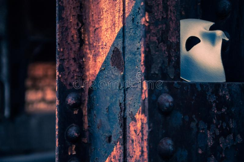 Фантом маски оперы стоковое изображение rf