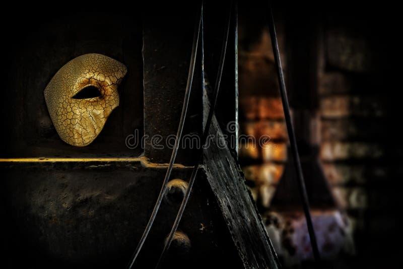 фантом оперы masquerade маски стоковое фото rf