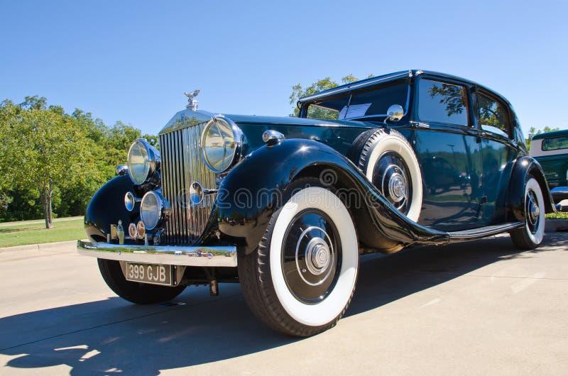Фантом 1937 Rolls Royce 3 стоковые изображения rf