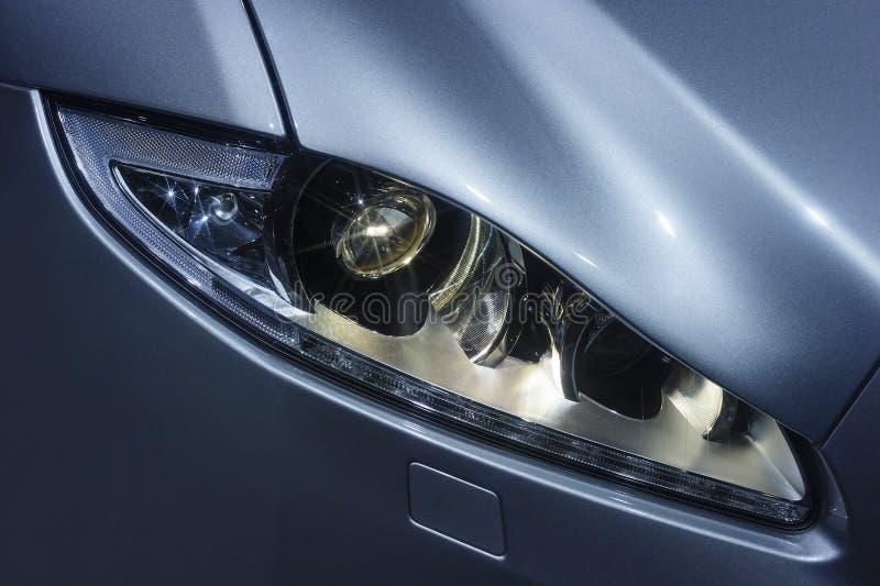 Фара автомобиля с звездами стоковые фотографии rf