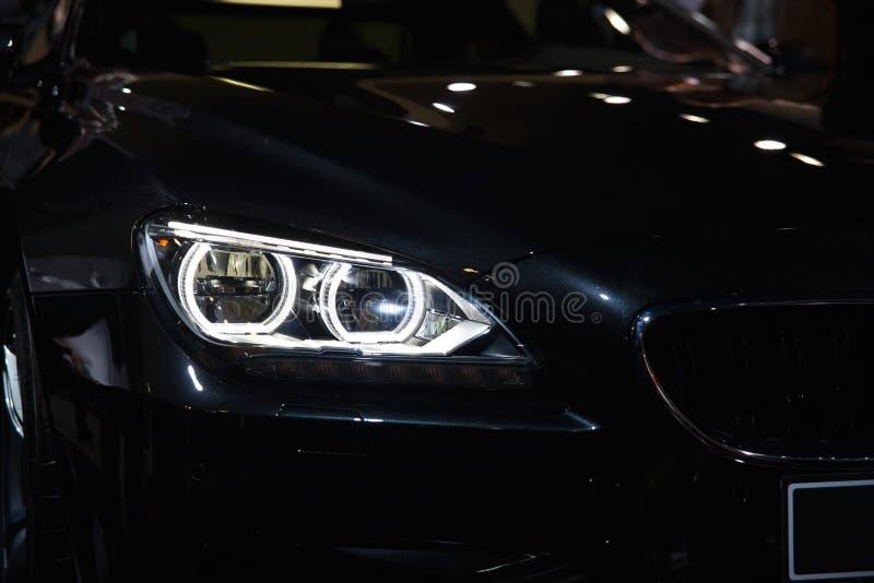 Фара ксенона BMW M6 стоковое изображение rf
