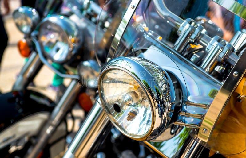 Фара мотоцикла стоковые изображения