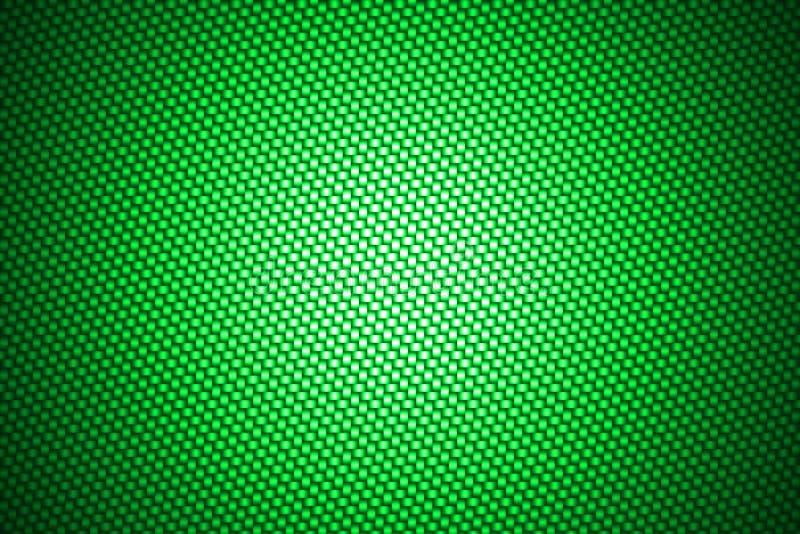 Фара на зеленом волокне углерода бесплатная иллюстрация
