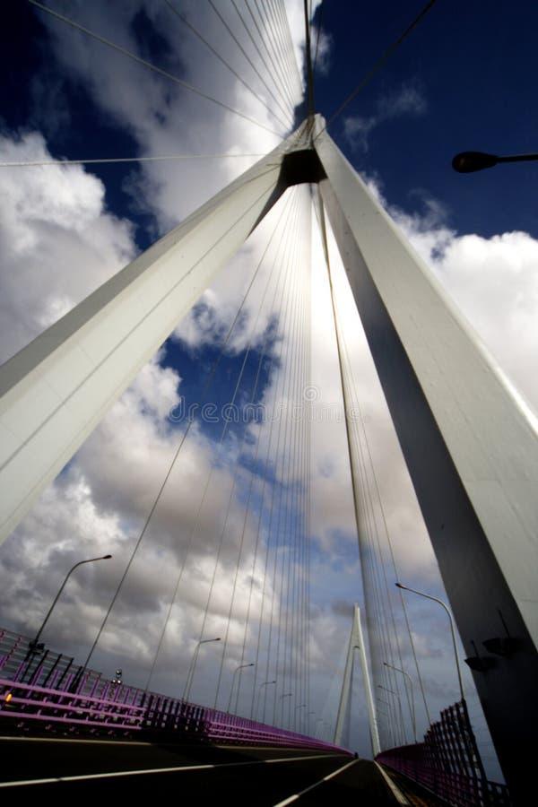 фарфор hangzhou s моста залива стоковая фотография