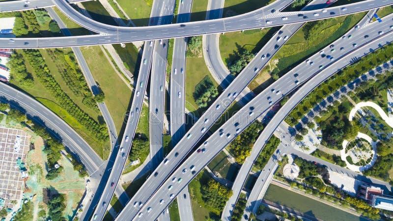 Фарфор zhengzhou шоссе стоковые изображения rf