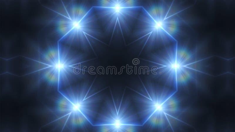 Фары картины калейдоскопа голубые светлые бесплатная иллюстрация