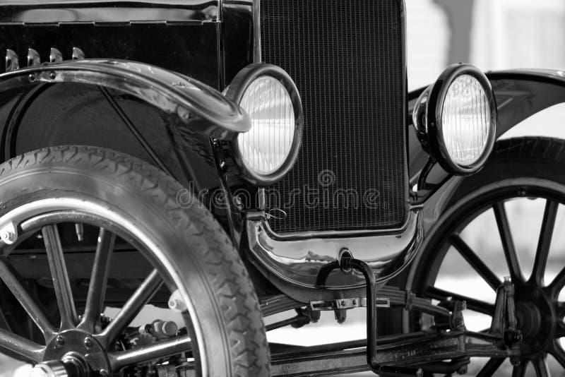 фары классики автомобиля стоковая фотография rf