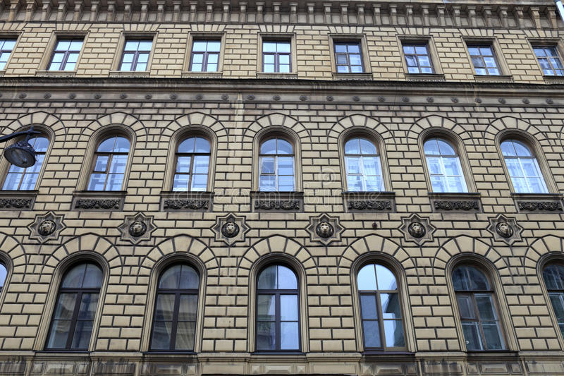 фасад здания исторический стоковые изображения