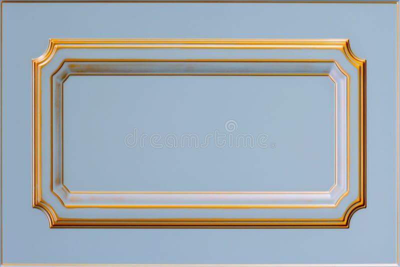 Фасад кухни Рамка предпосылки стоковые изображения rf