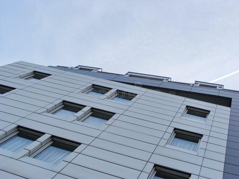 Фасад металла стоковое изображение