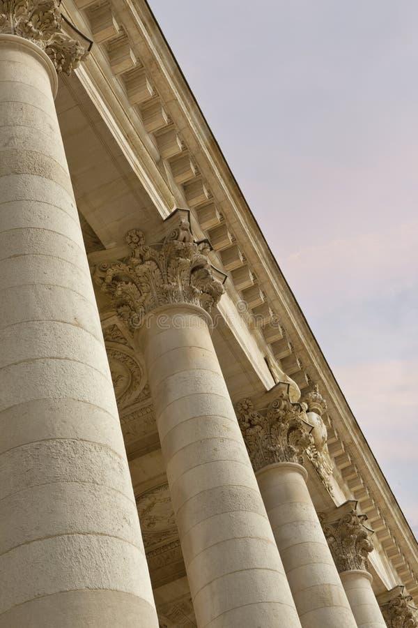 Фасад оперы Бордо стоковое фото