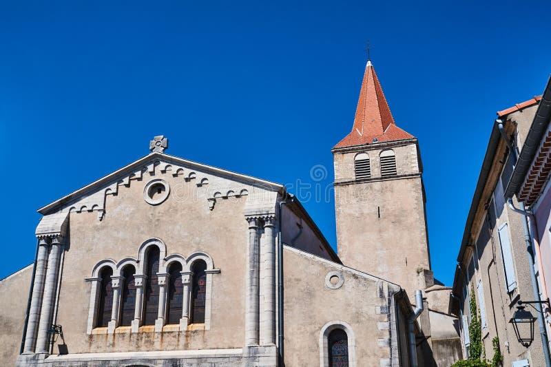 Фасад средневековой церков стоковые фото