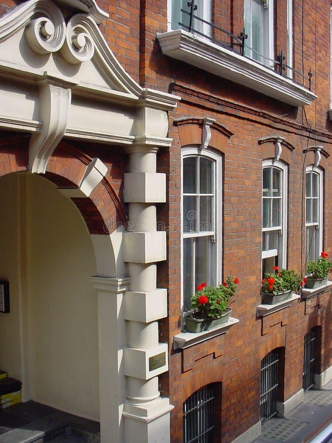 фасад london здания стоковое изображение rf