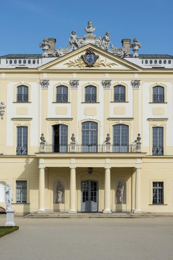 Фасад дворца Branicki, Bialystok, Польша стоковая фотография