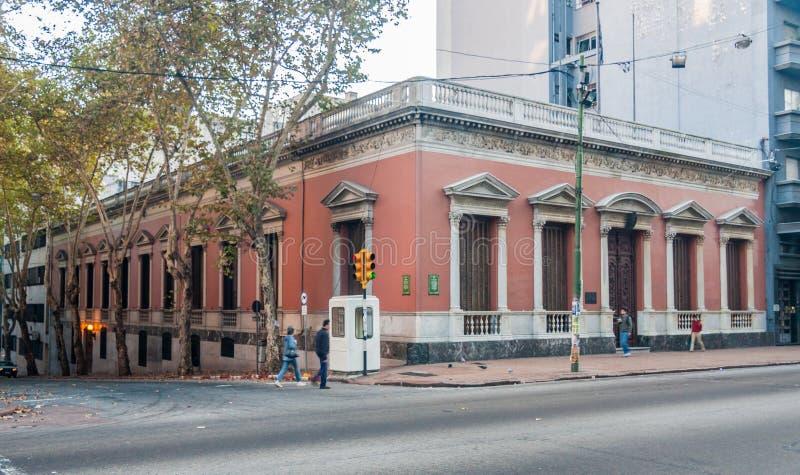 фасад исторический montevideo здания стоковые изображения rf