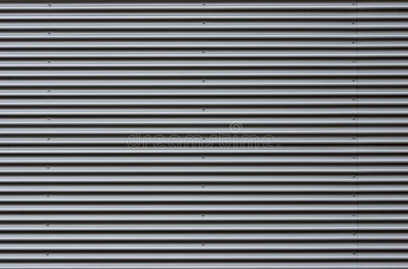 Фасад металлического листа рифленого листа стоковое изображение