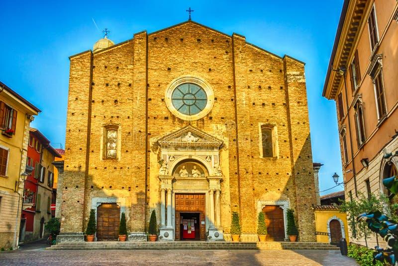 Download Фасад собора в Salo, озере Garda, Италии Стоковое Фото - изображение насчитывающей итальянско, назначение: 41660810