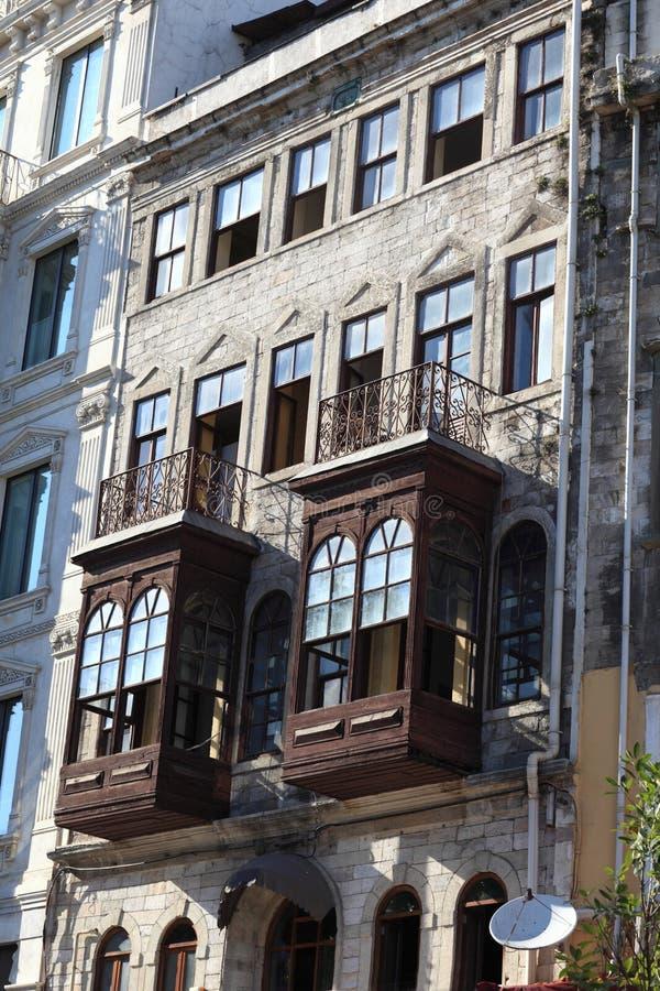 Фасад старого здания стоковое изображение rf