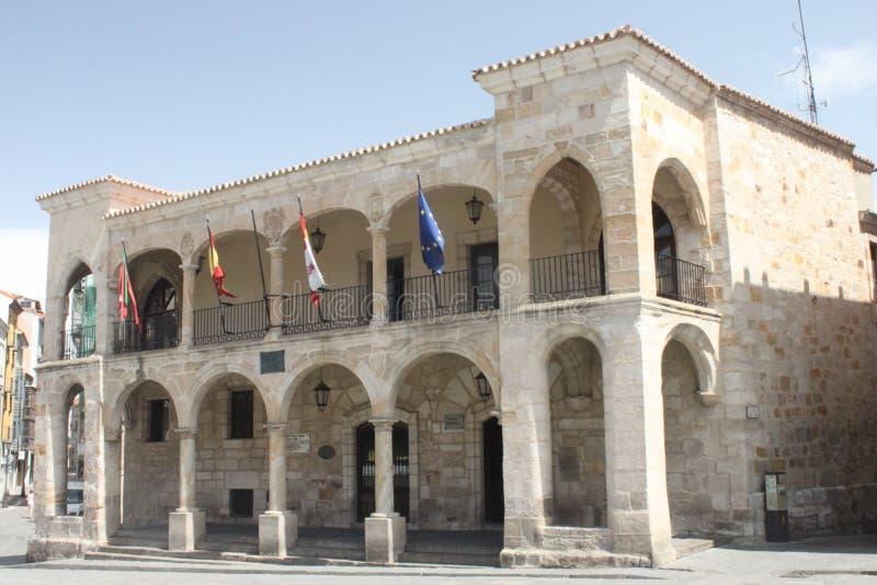 Фасад с сводами Zamora стоковое фото rf