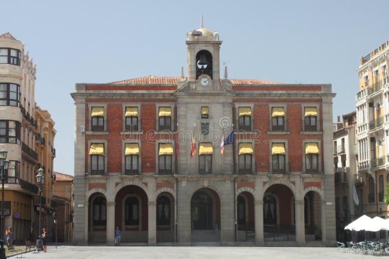 Фасад с сводами Zamora стоковые фотографии rf