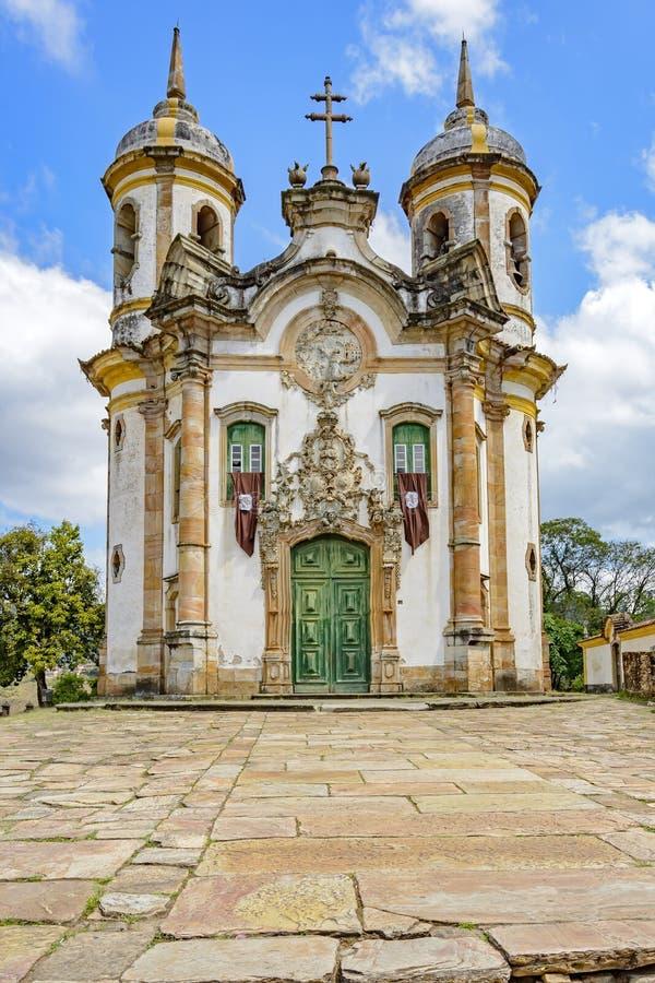 Фасад церков стоковые фотографии rf