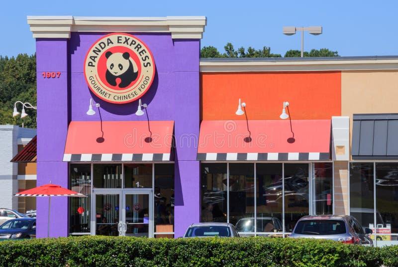 Фаст-фуд панды срочный стоковые изображения