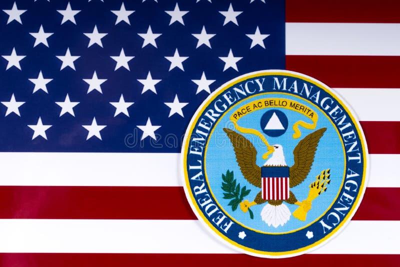 Федеральное агенство управления в чрезвычайных ситуациях стоковое фото rf