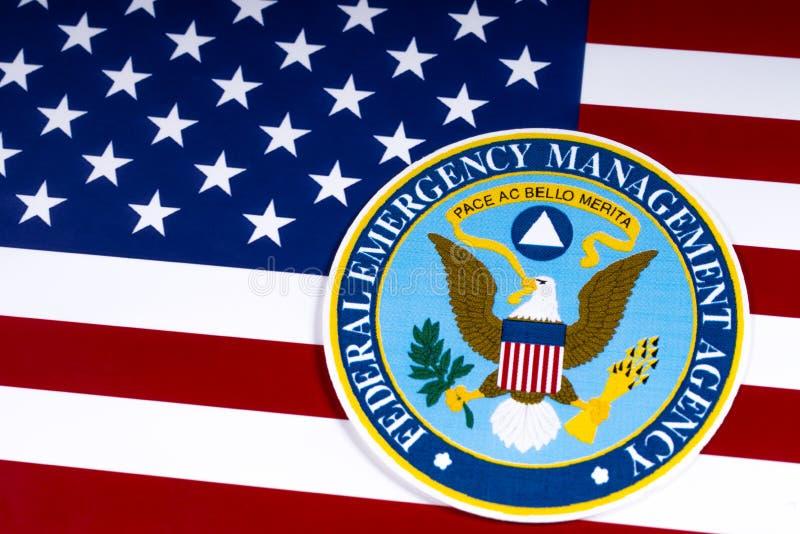 Федеральное агенство управления в чрезвычайных ситуациях стоковые фото
