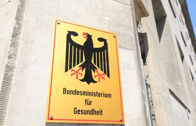 Федеральное министерство здравоохранения Берлина стоковая фотография