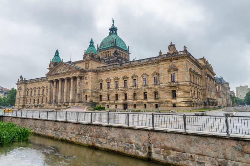 Федеральный административный суд Германии, Лейпцига Bundesverw стоковая фотография